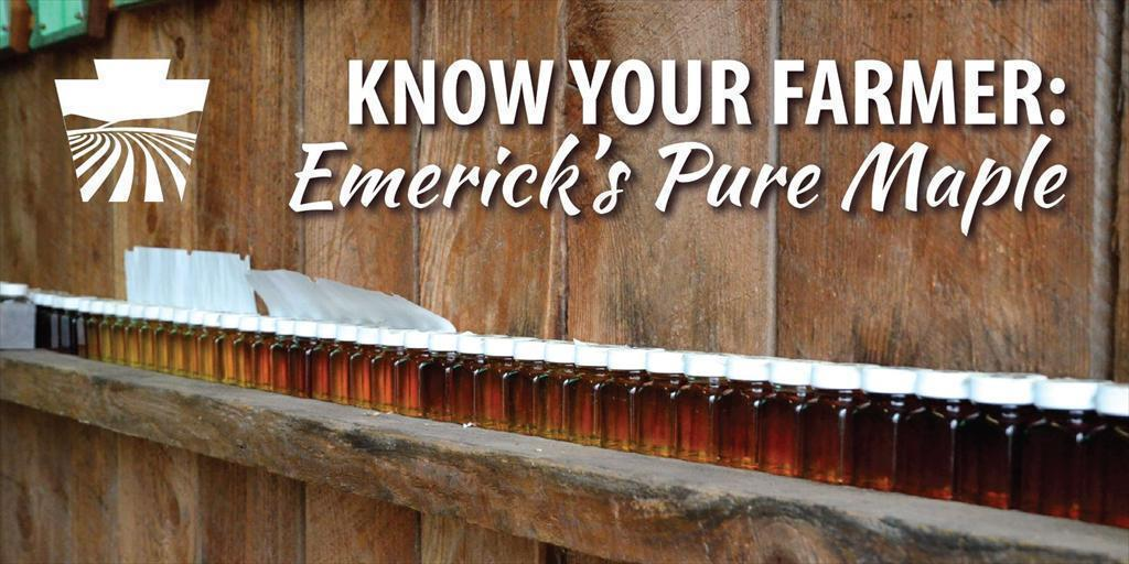 Know Your Farmer: Emerick's Pure Maple