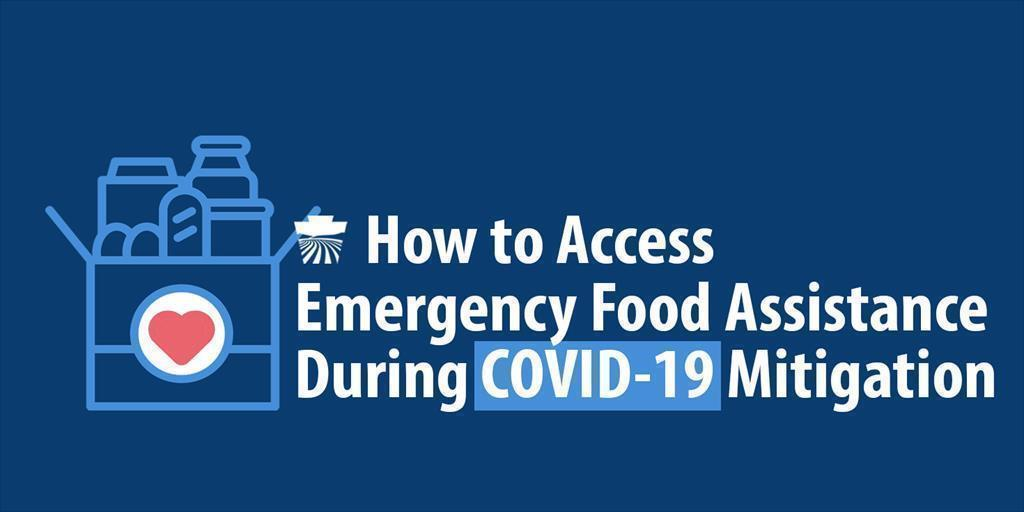 ​How to Access Emergency Food Assistance During COVID-19 Mitigation