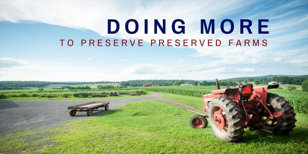 Doing More to Preserve Preserved Farms